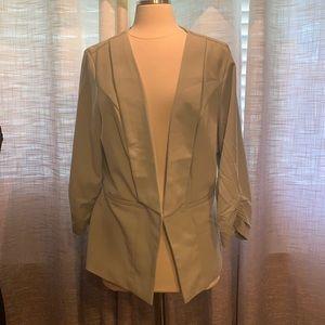 NWT Torrid sage green blazer size 2